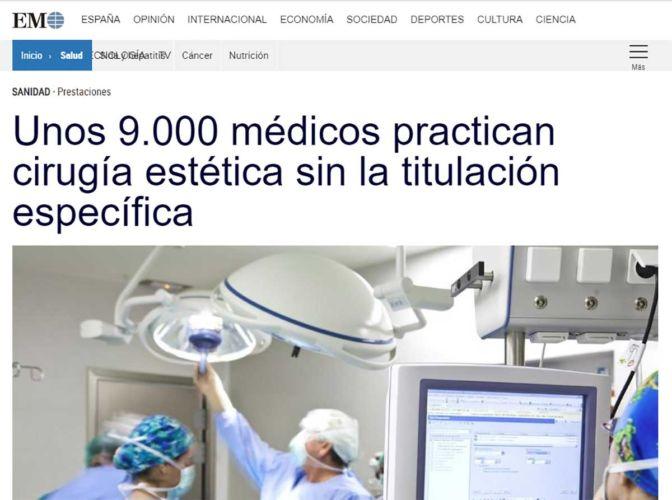 Artículo-en-ElMundo-Médicos-sin-Titulación-Específica---Dr-Marco-Romeo