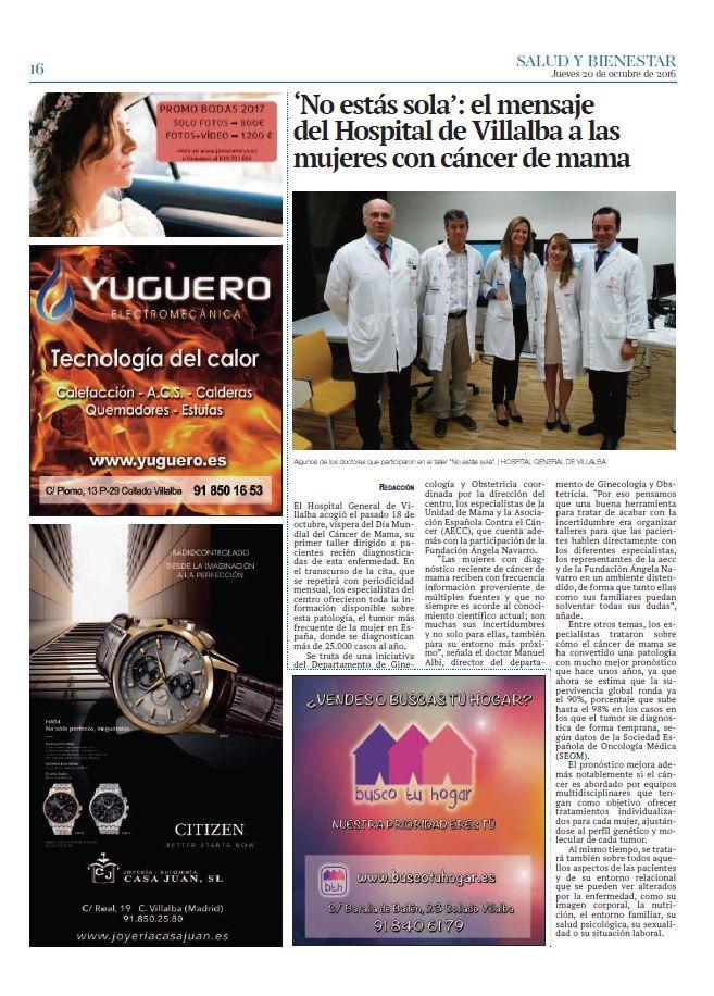 Artículo en Periódico La Voz de la Sierra - Dr Marco Romeo